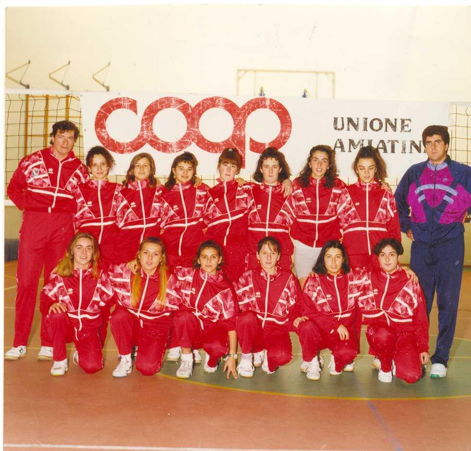 prima divisione femminile 1993-94