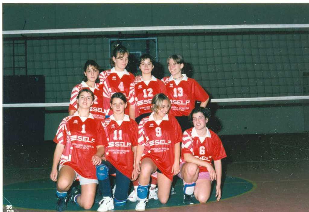 under 16 femminile 1996 - 97