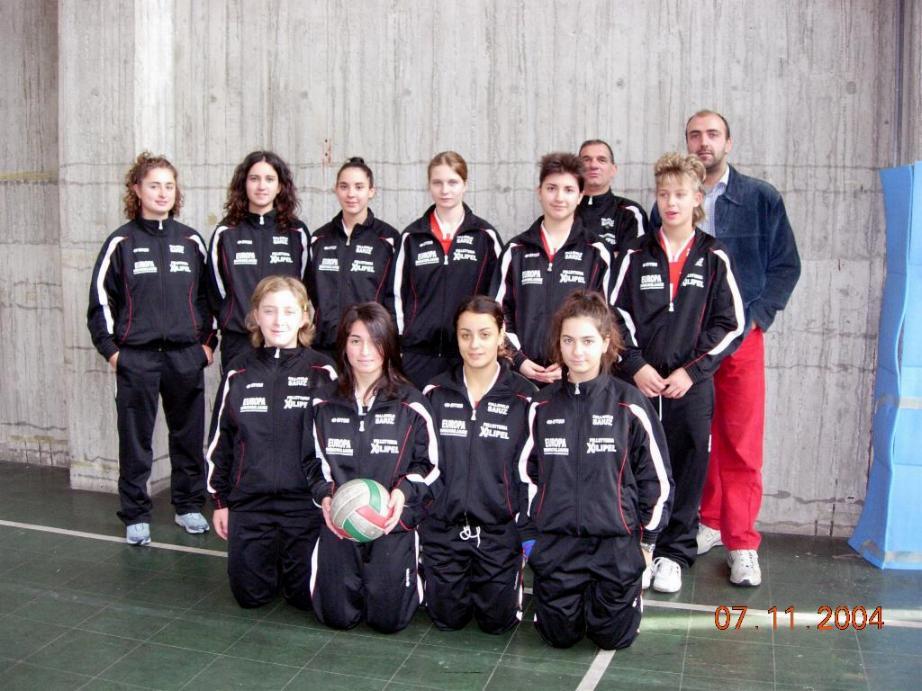 under 17 femminile 2004-05