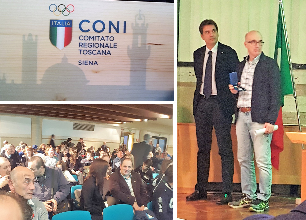 Premiazione società C.O.N.I. regionale