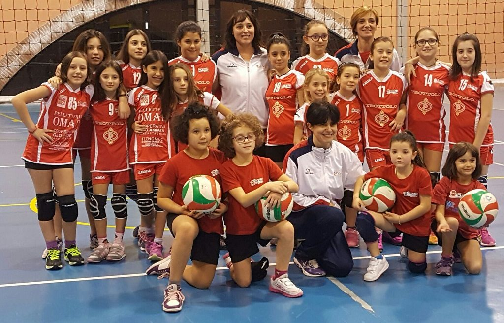Under 12 e Minivolley Femminile Castel del Piano