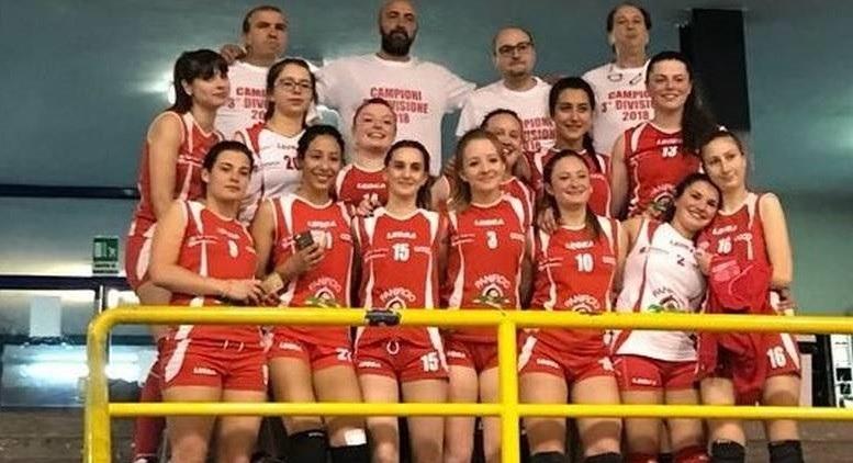 Amiata. Volley: le pallavoliste Saiuz Amiata vincono il Campionato di Terza Divisione